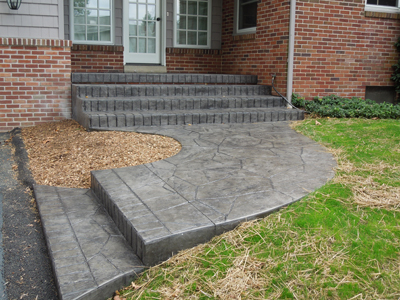 Stamped Concrete Aft